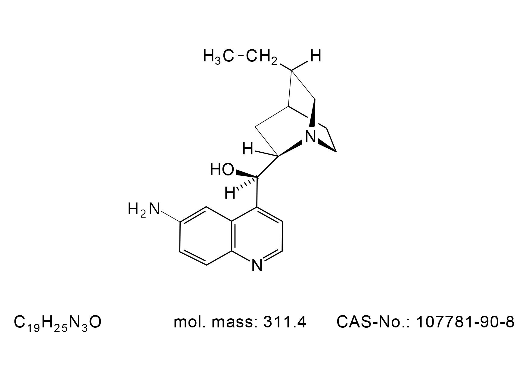 6`-Aminodihydrocinchonidine - Chemical Structure
