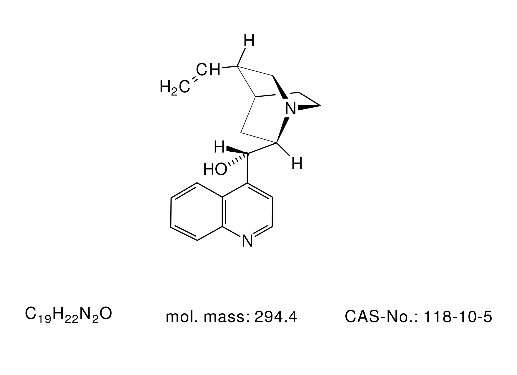Cinchonine Base - Chemical Structure