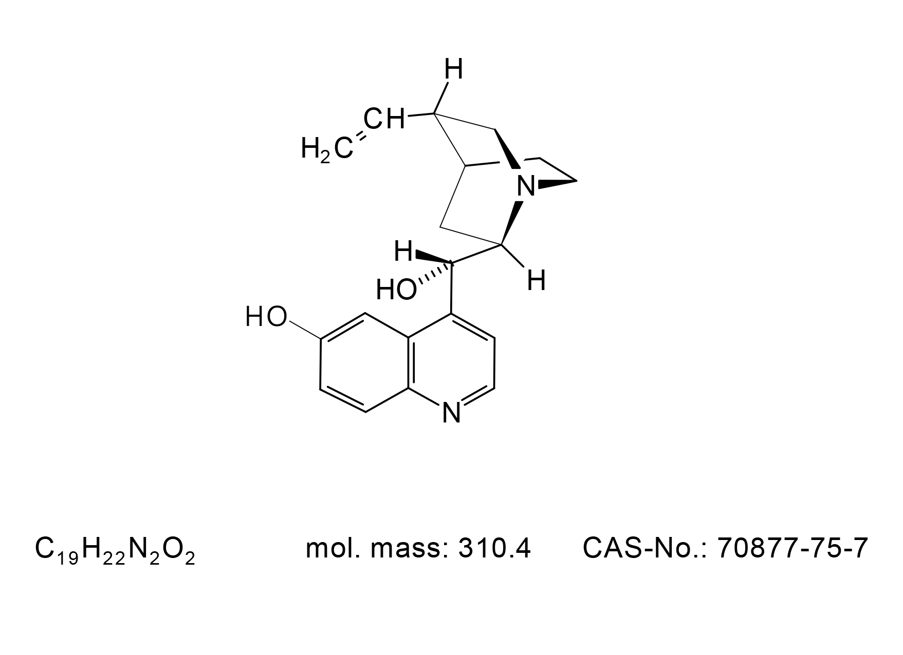 Cupreidine - Chemical Structure