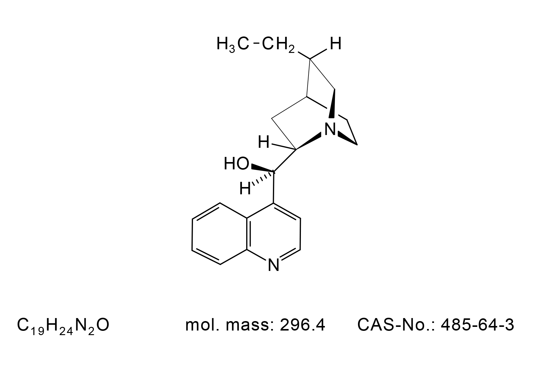 Dihydrocinchonidine - Chemical Structure
