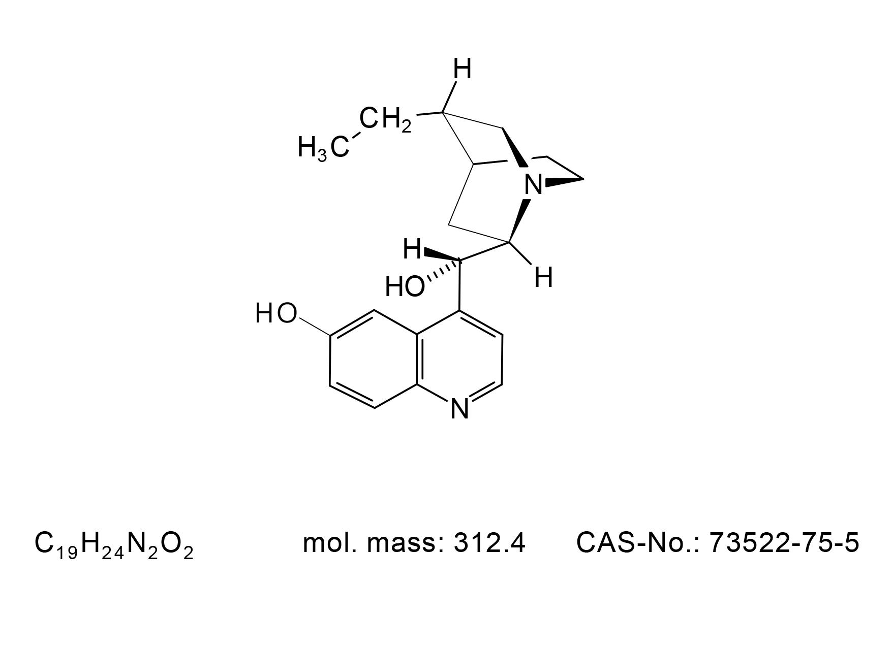 Dihydrocupreidine - Chemical Structure